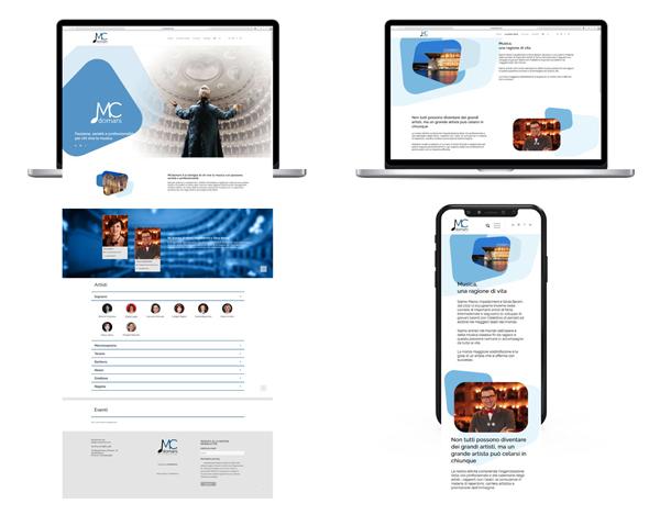 Mcdomani work mockup sito desktop mobile