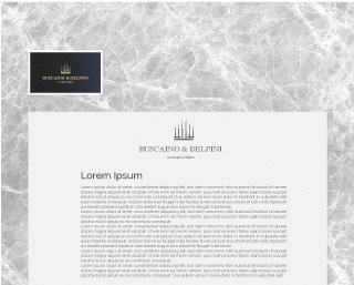 buscaino & delfini moodmama sito brochure web branding rebranding render