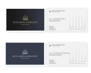 buscaino & delfini moodmama sito brochure web branding rebranding mobile business card