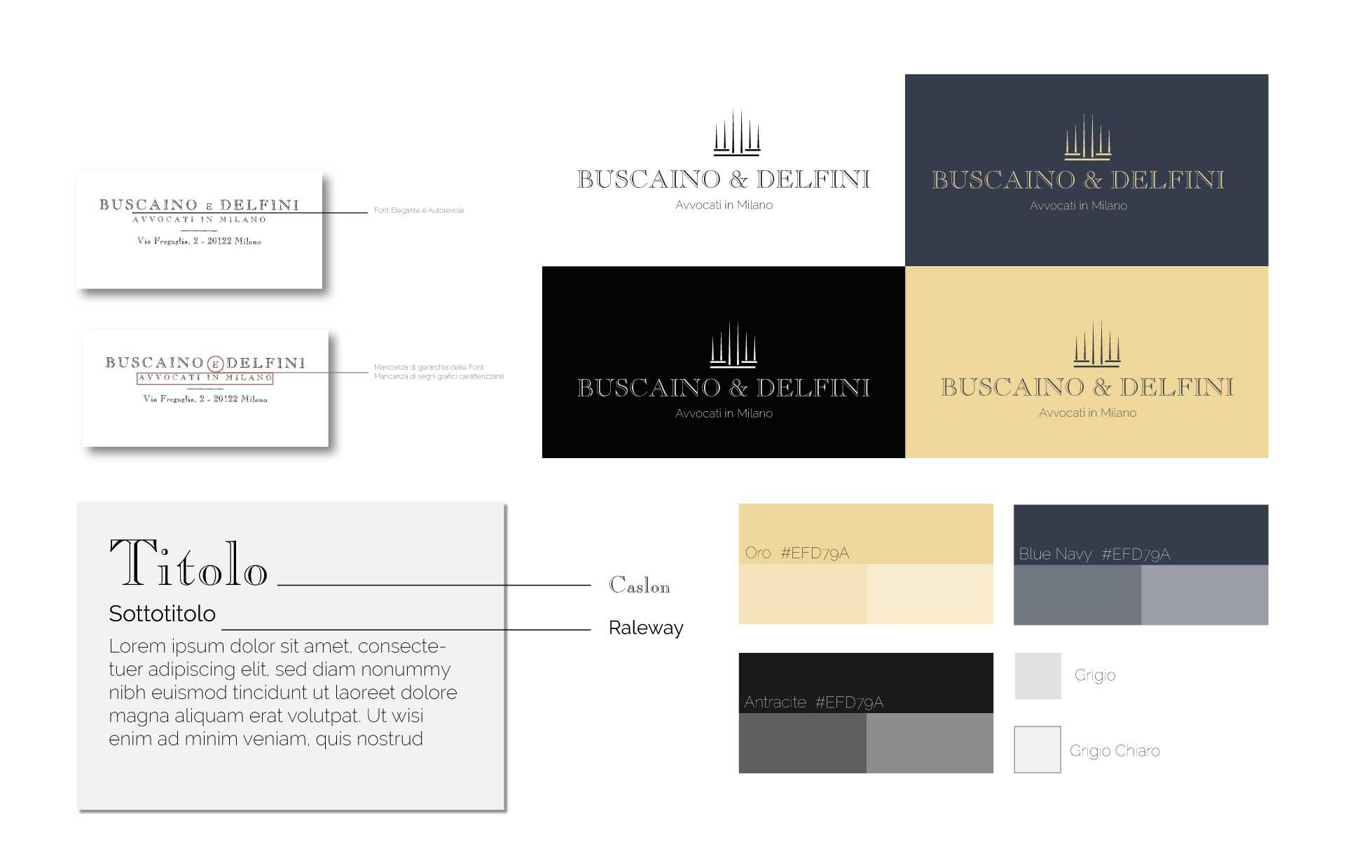 buscaino & delfini moodmama sito brochure web branding rebranding