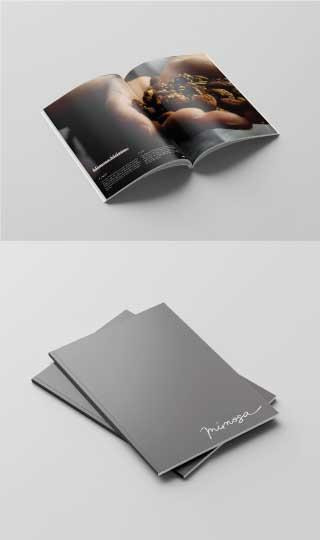mimosa moodmama sito brochure web branding social eventi portfolio brochure mobile interno