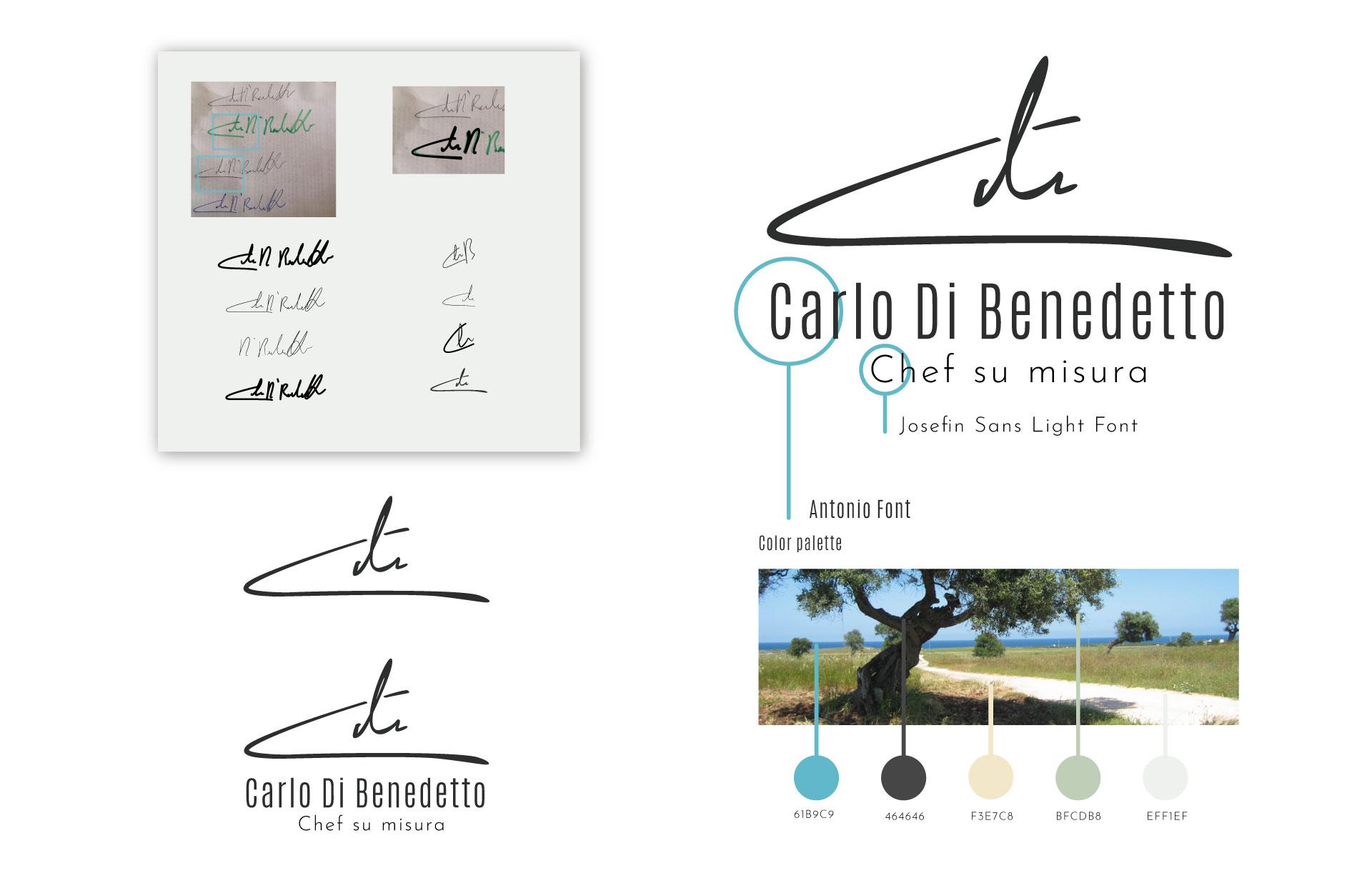 studio web carlo dibenedetto chef branding logo moodmama portfolio