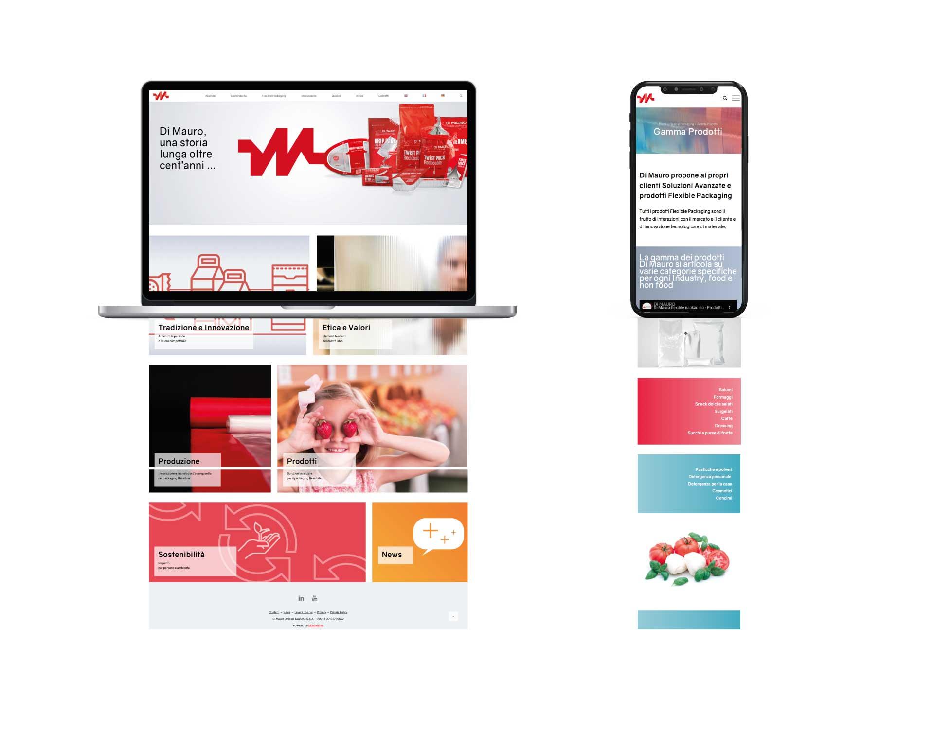 di mauro moodmama lavori work website home desktop