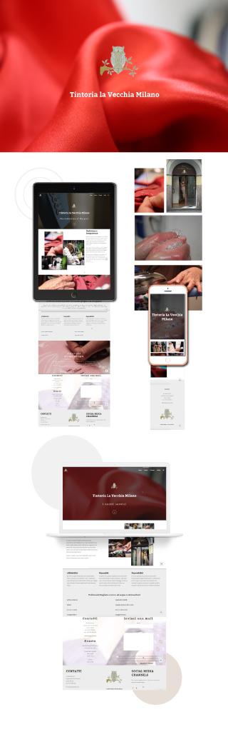 tintoria la vecchia milano moodmama web agency sito web desktop