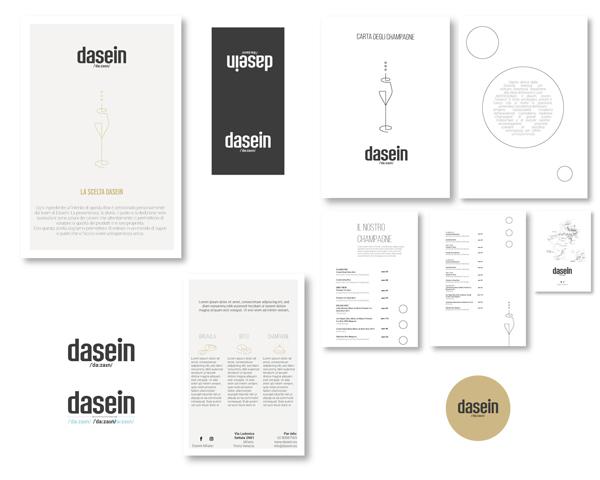Dasein work grafiche scelta adesivi menu