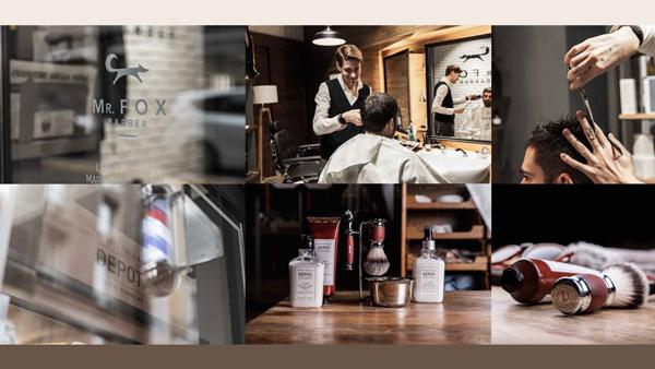 Mrfox work foto barbiere e prodotti